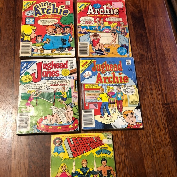 Vintage Archie Jughead Superheroes Comics